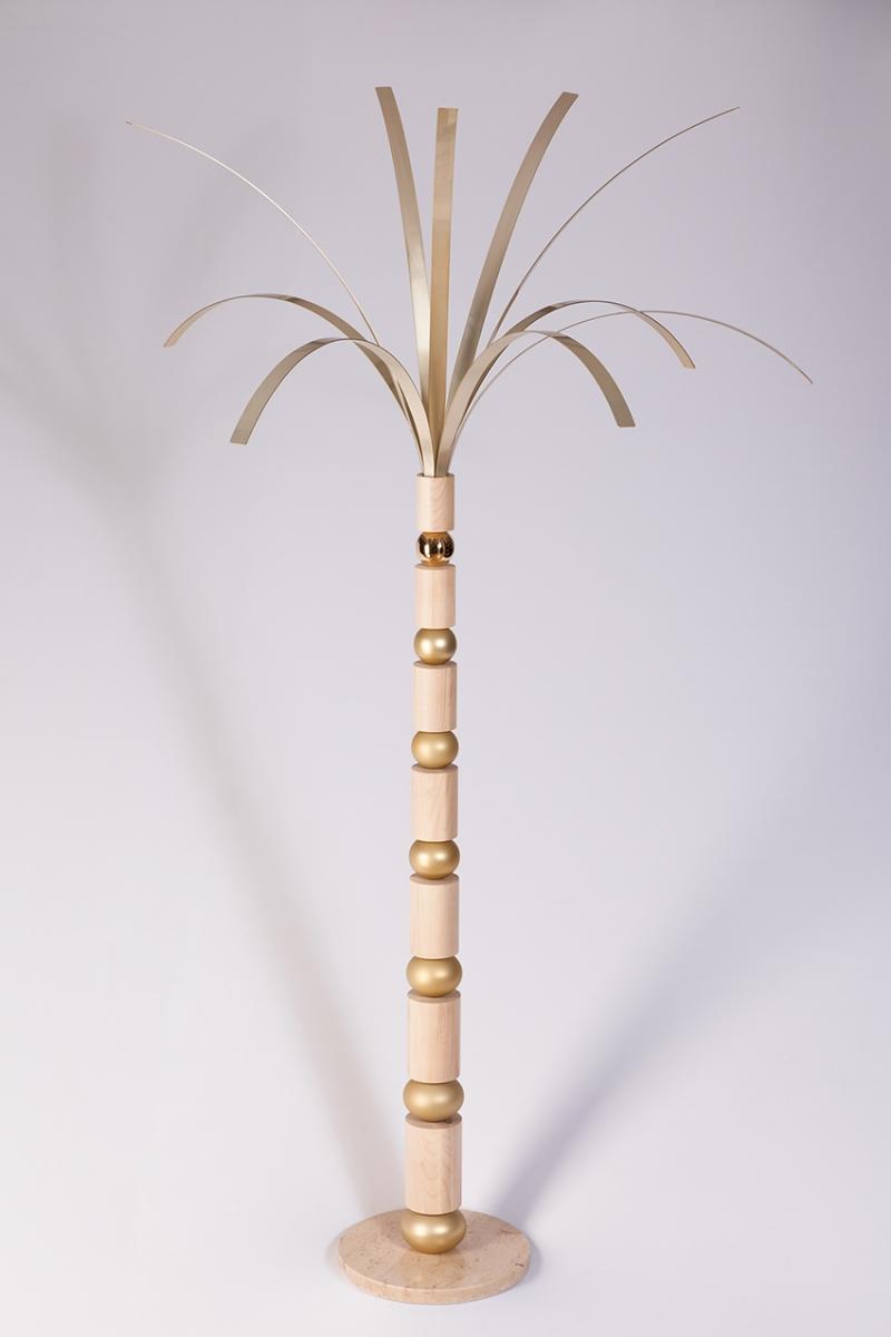 Palm Tree Interior Statue
