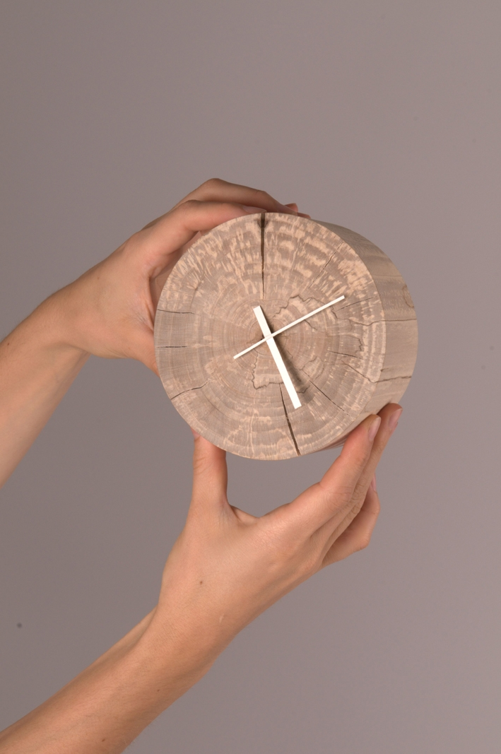 Maple clock